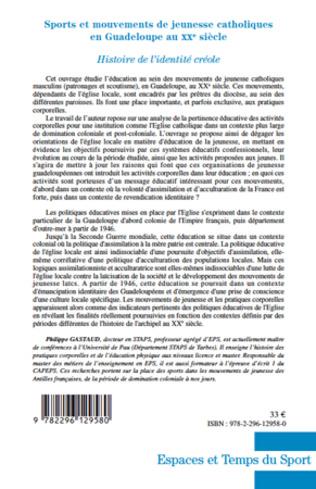 4eme Sports et mouvements de jeunesse catholiques en Guadeloupe au XXe siècle