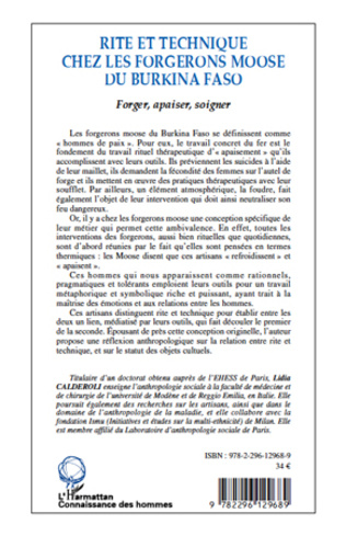 4eme Rite et technique des forgerons moose du Burkina Faso