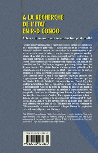 4eme A la recherche de l'Etat en R-D Congo