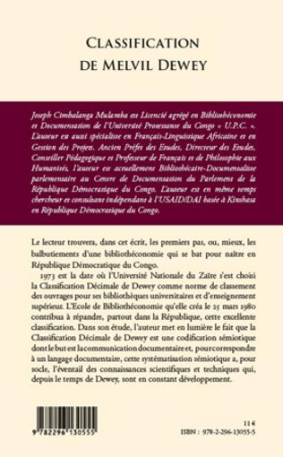 4eme Classification de Melvil Dewey