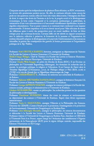 4eme La RDC 50 ans d'indépendance