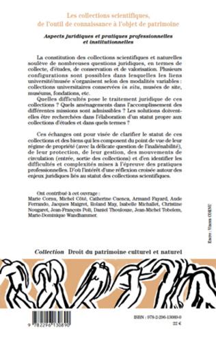4eme Les collections scientifiques, de l'outil de connaissance à l'objet de patrimoine