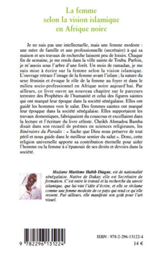 4eme La femme selon la vision islamique en Afrique noire