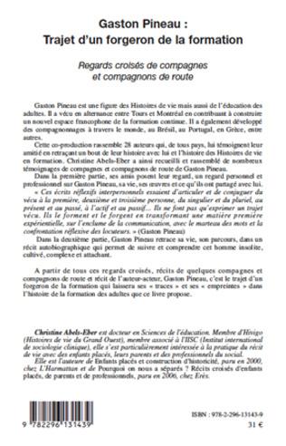4eme Gaston Pineau : trajet d'un forgeron de la formation