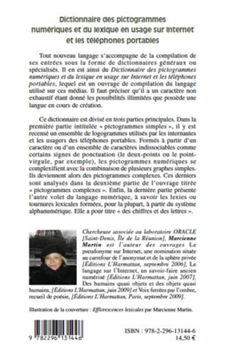 4eme Dictionnaire des pictogrammes numériques et du lexique en usage sur internet et les téléphones portables