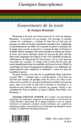 4eme Gouverneurs de la rosée