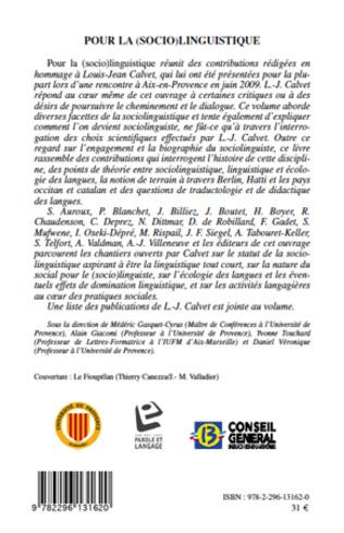4eme Pour la (socio)linguistique