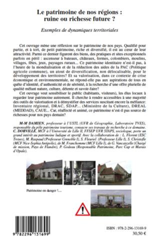 4eme Le patrimoine de nos régions : ruine ou richesse future ?