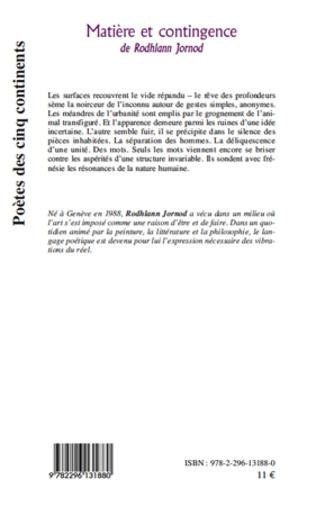 4eme Matière et contingence