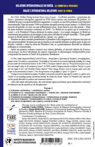 4eme Relations internationales du Brésil, Les chemins de la Puissance (Volume II)