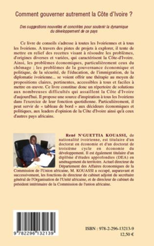 4eme Comment gouverner autrement la Côte d'Ivoire ?