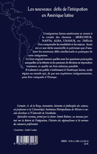 4eme Les nouveaux défis de l'intégration en Amérique latine