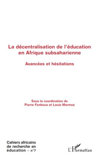 4eme La décentralisation de l'éducation en Afrique subsaharienne