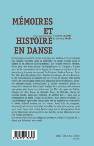 4eme Mémoires et histoire en danse