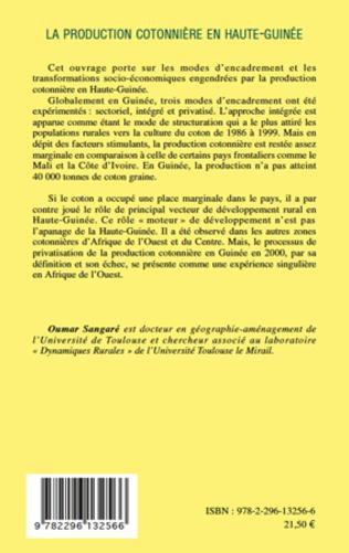 4eme La production cotonnière en Haute-Guinée