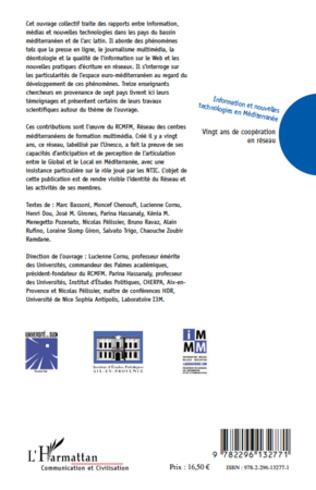 4eme Information et nouvelles technologies en Méditerranée