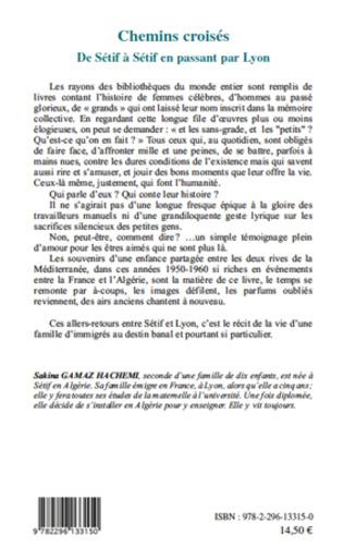 4eme Chemins croisés