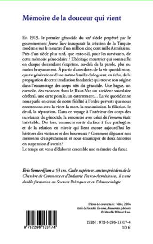 4eme Mémoire de la douceur qui vient