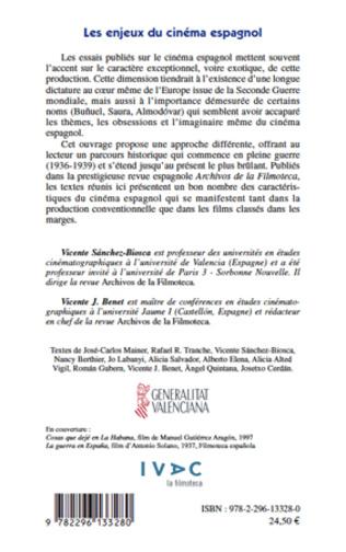 4eme Les enjeux du cinéma espagnol