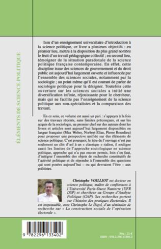 4eme Eléments de science politique