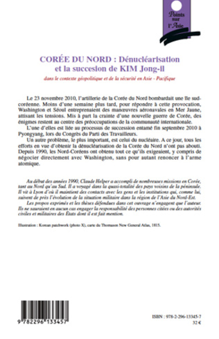 4eme Corée du Nord : Dénucléarisation et la succession de KIM Jong-il