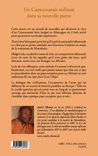 4eme Un Camerounais militant dans sa nouvelle patrie