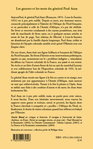 4eme Les guerres et les mots du général Paul Azan