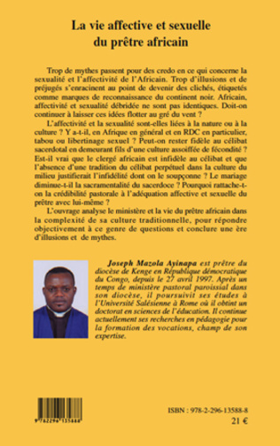 4eme La vie affective et sexuelle du prêtre africain