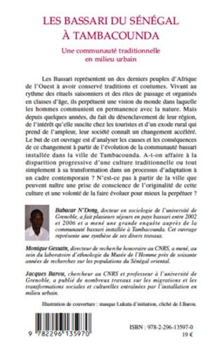 4eme Les Bassari du Sénégal à Tambacounda