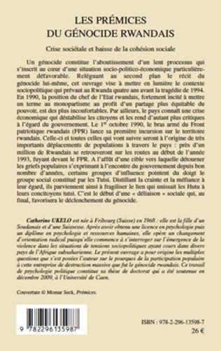 4eme Les prémices du génocide Rwandais