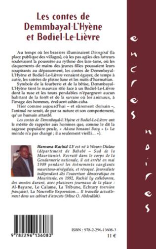 4eme Les contes de Demmbayal-L'Hyène et Bodiel-Le-Lièvre