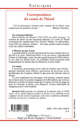 4eme Correspondance du comte de Thiard