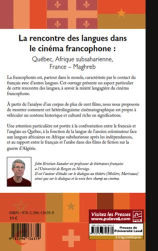 4eme La rencontre des langues dans le cinéma francophone :