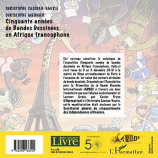 4eme Cinquante années de bandes dessinées en Afrique francophone
