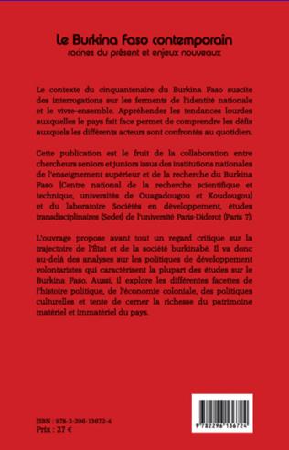 4eme Le Burkina Faso contemporain