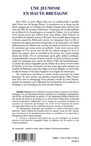 4eme Une jeunesse en Haute-Bretagne