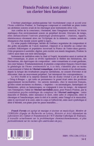 4eme Francis Poulenc à son piano: un clavier bien fantasmé