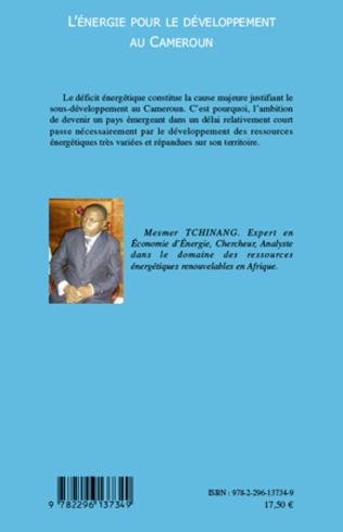 4eme L'énergie pour le développement au Cameroun