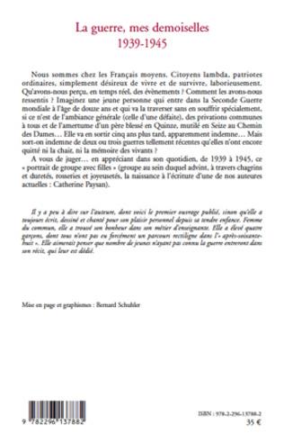 4eme La guerre, mes demoiselles 1939-1945