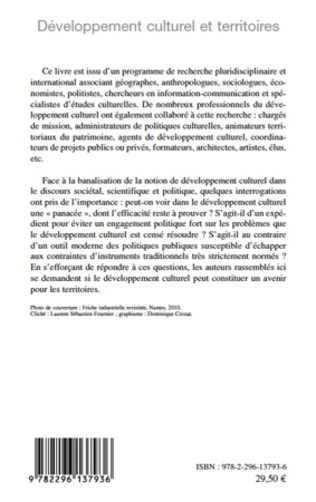 4eme Développement culturel et territoires