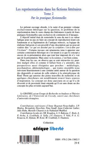4eme Les représentations dans les fictions littéraires Tome 2