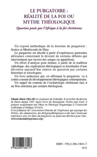 4eme Le purgatoire : réalité de la foi ou mythe théologique