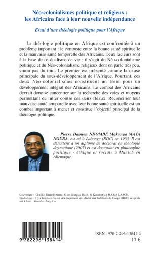 4eme Néo-colonialismes politique et religieux : les Africains face à leur nouvelle indépendance