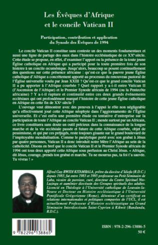 4eme Les Evêques d'Afrique et le concile Vatican II