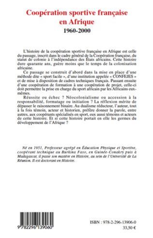 4eme Coopération sportive française en Afrique