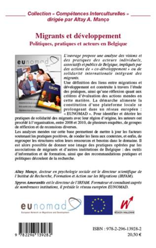 4eme Migrants et développement