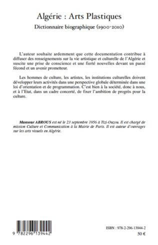 4eme Algérie : Arts Plastiques