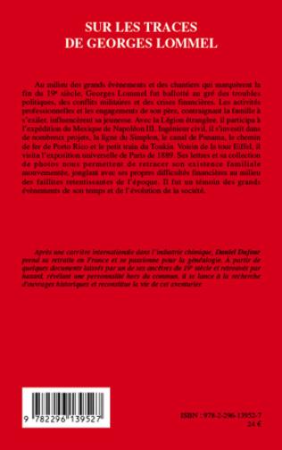 4eme Sur les traces de Georges Lommel