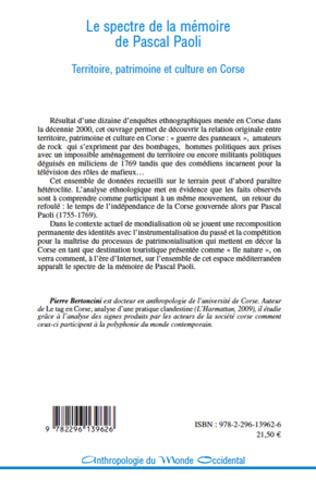 4eme Le spectre de la mémoire de Pascal Paoli
