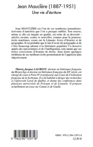 4eme Jean Mauclère (1887-1951)